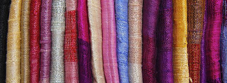Разные синтетические ткани