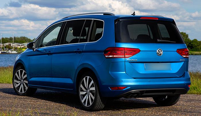 Вид Volkswagen Touran