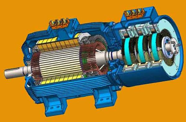Вид асинхронного двигателя