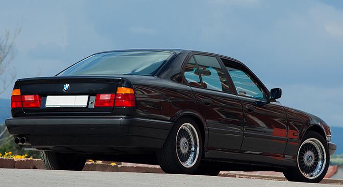 Вид BMW E34