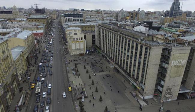 Грязный центр города