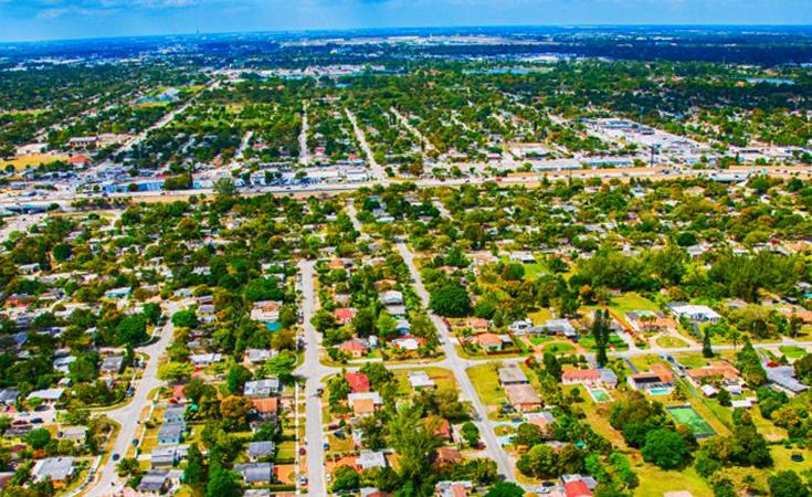 Вид на Флориду
