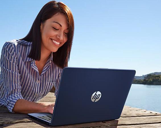 Использование ноутбука HP