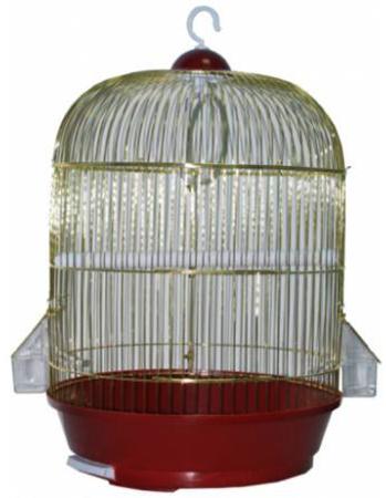 Современная круглая клетка для попугая