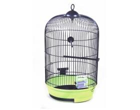 Круглая клетка для попугая: плюсы и минусы