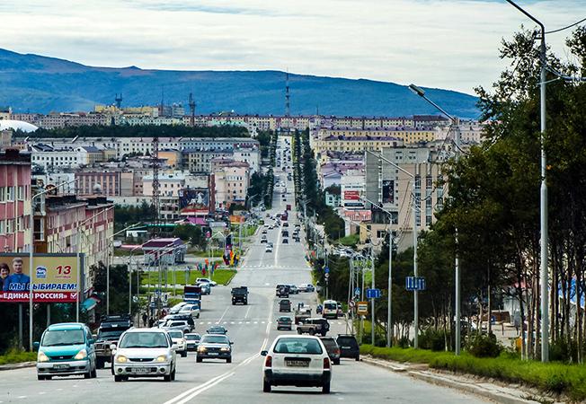 Улица Магадана