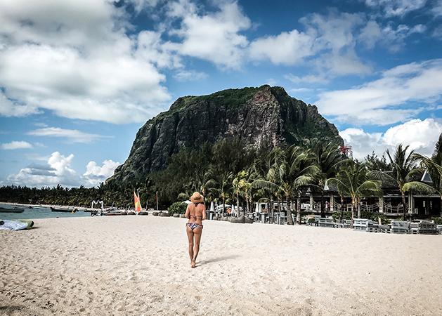 Турист на Маврикийе