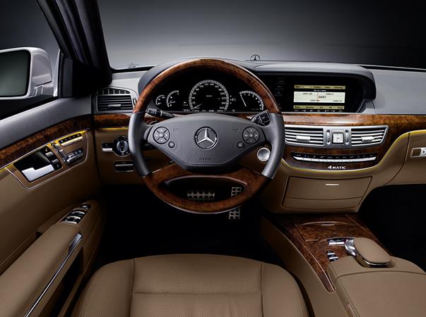 Интерьер Mercedes-Benz W221
