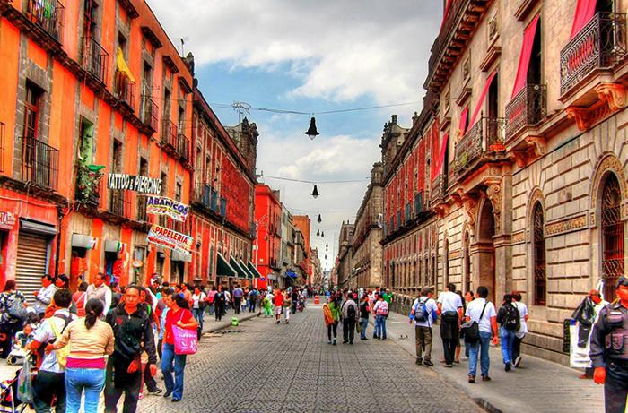 Улица Мексика