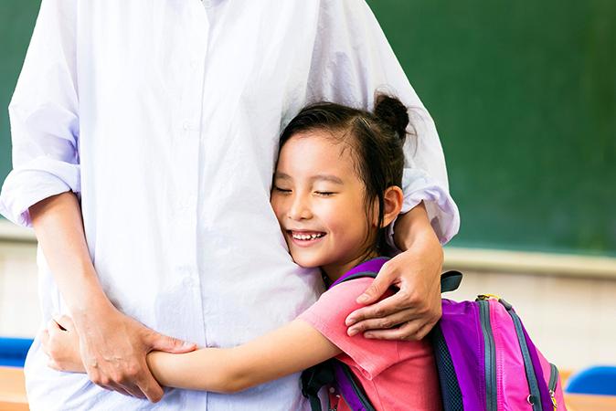 Счастливая ученица