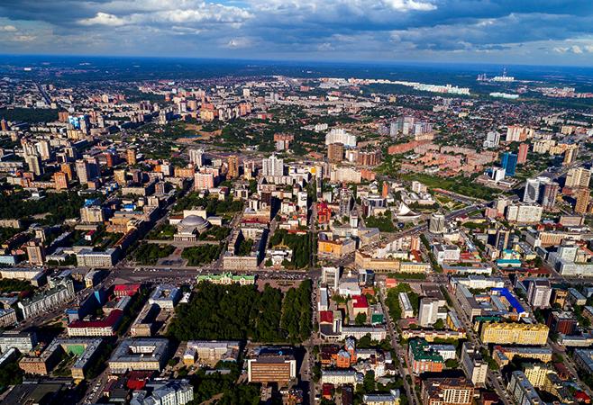 Сибирский город