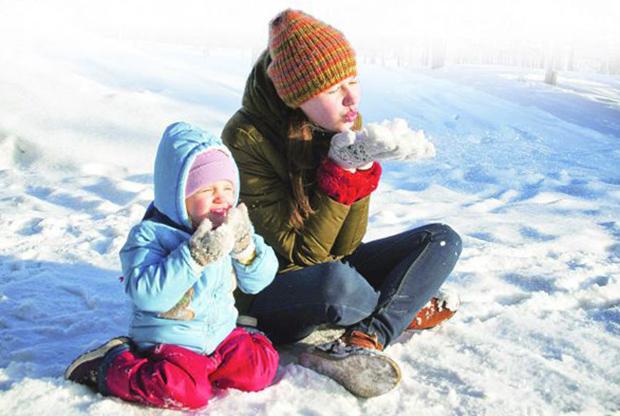 Дети в Сибири