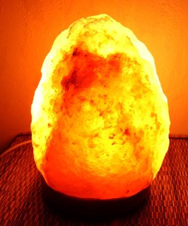 Новая соляная лампа