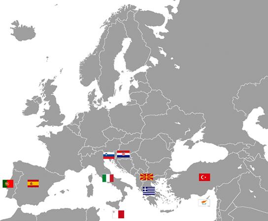 Страны Южной Европы