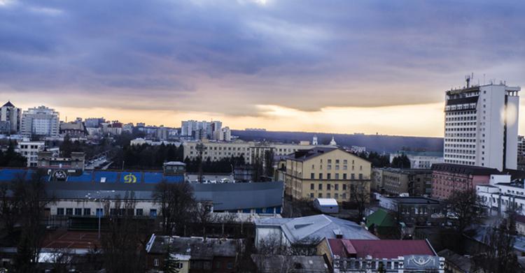 Вид на Ставрополь
