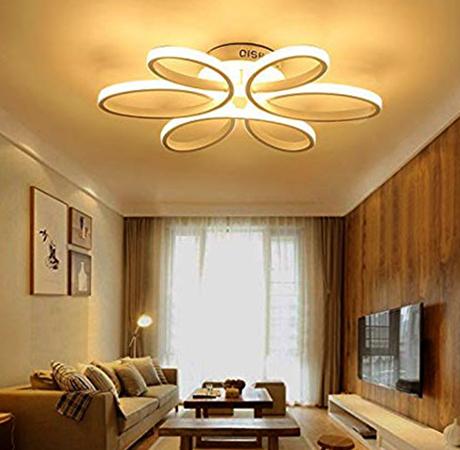 Светодиодная люстра в доме