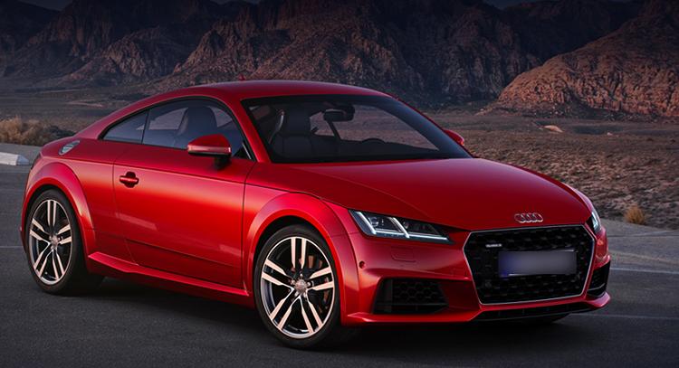 Автомобиль Audi TT