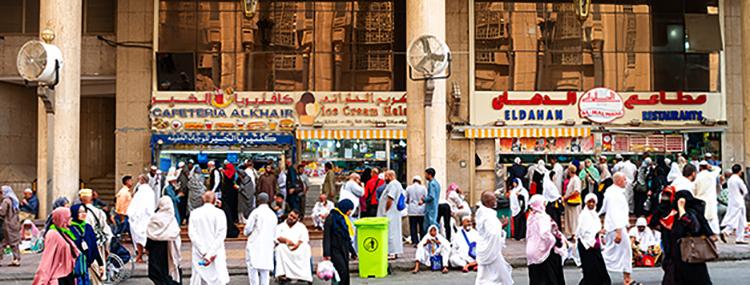 Улица в Саудовской Аравии