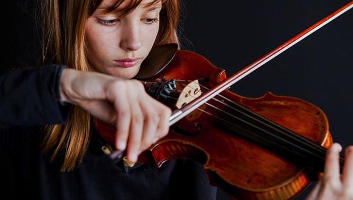 Обучение игры на скрипке