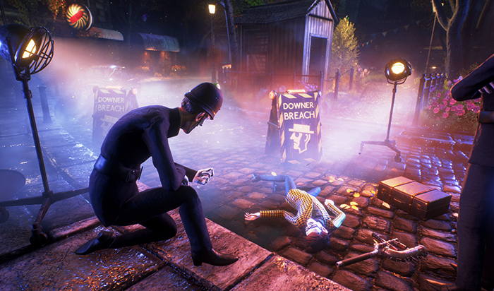 В игре We Happy Few