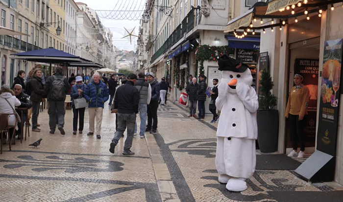 Португалия зимой