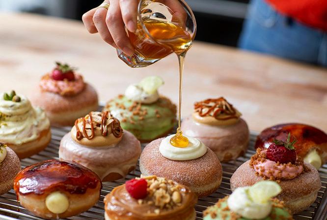 Производство пончиков