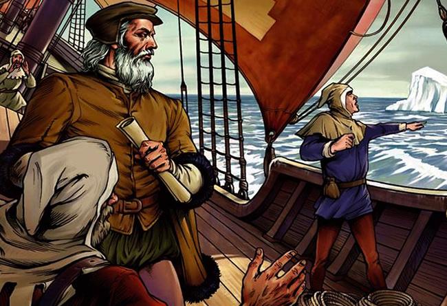 Открыватели на корабле