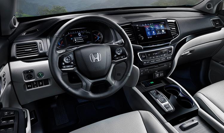Интерьер Honda Pilot