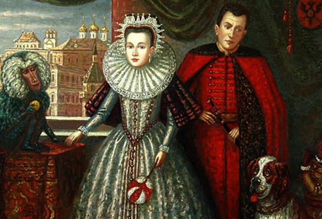 Лжедмитрий и Марина