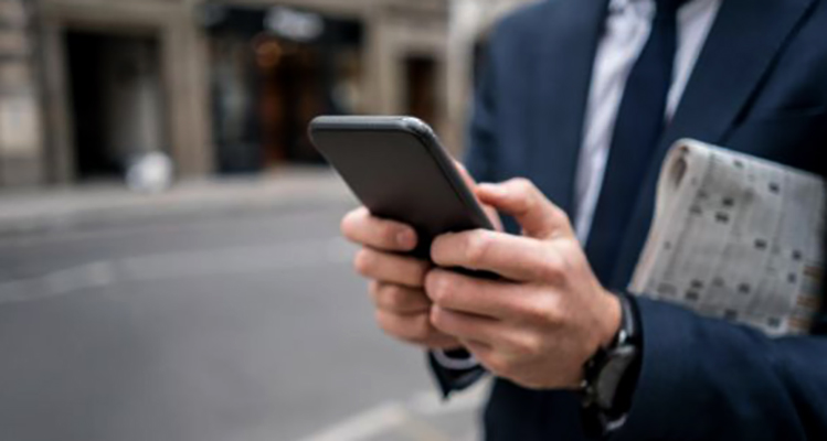 Просмотр новостей на смартфоне