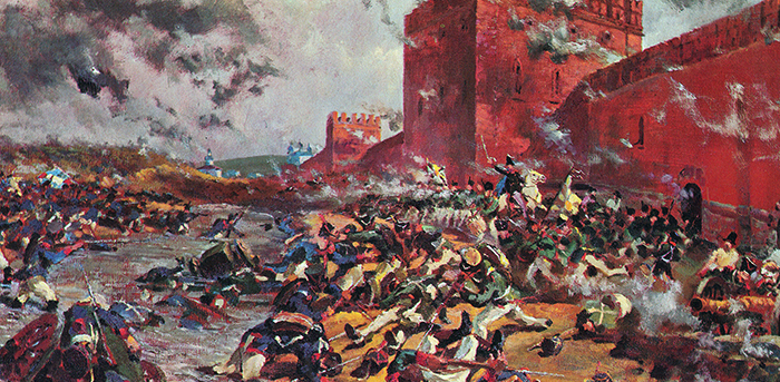 Битва во время войны