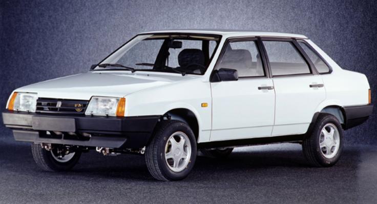 Новый ВАЗ-21099