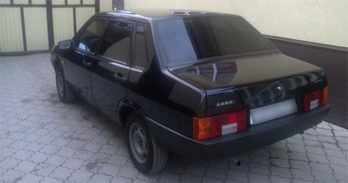 Вид ВАЗ-21099