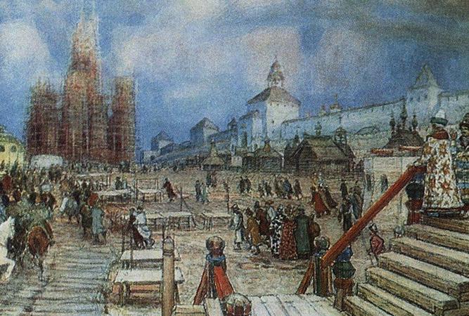 16 век в России