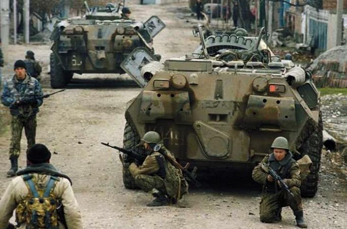 Во время второй Чеченской войны