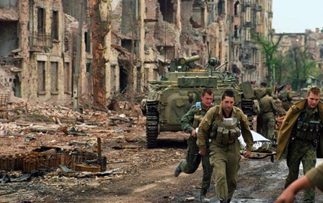 Во время первой Чеченской войны