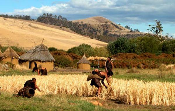 Деревня в древности