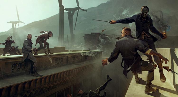 В игре Dishonored 2