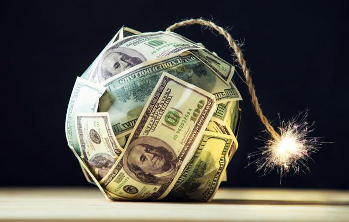 Госдолг в долларах