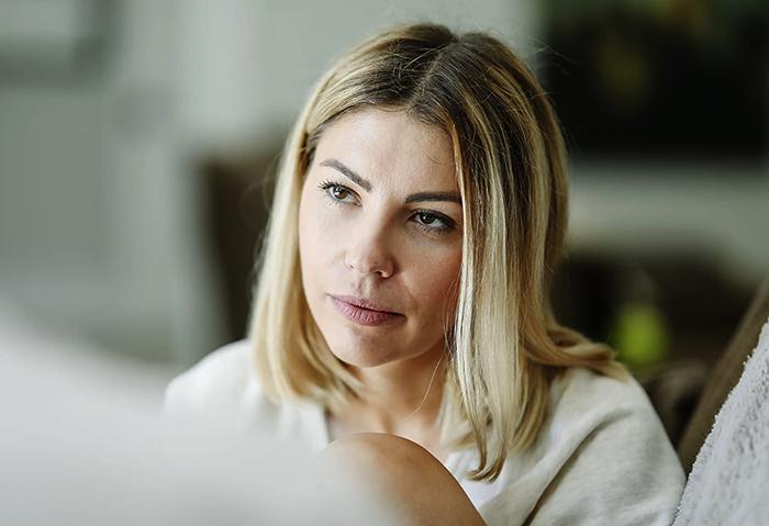 У женщины повышенный эстрадиол