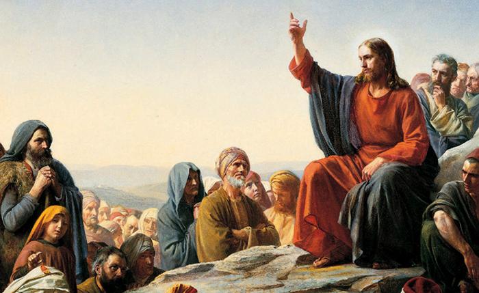 Иисус с людьми