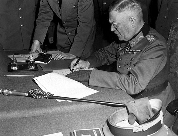 Подписание акта о капитуляции