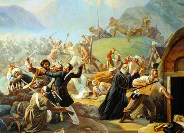 Во время Кавказской войны