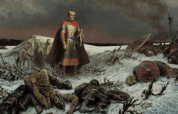Во время Куликовской битвы