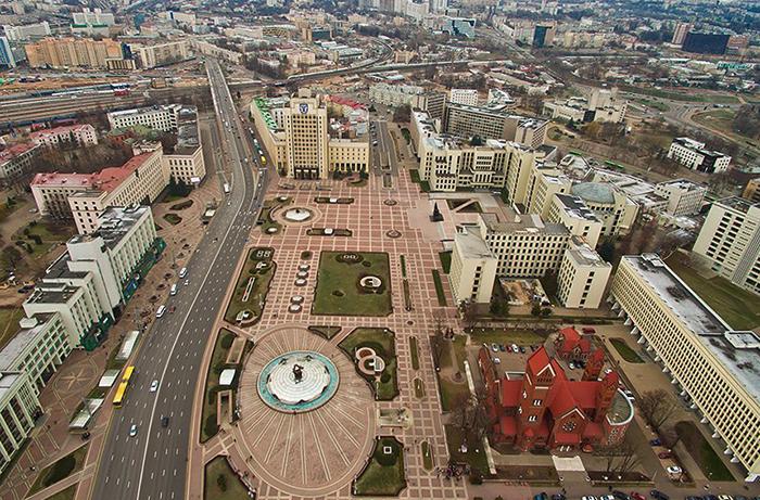 Красивый Минск