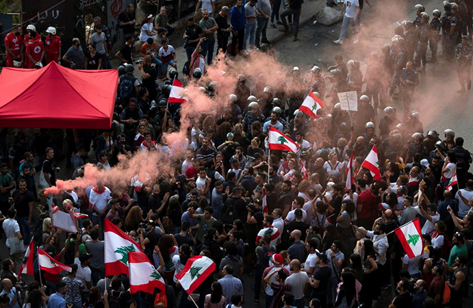 Митинг во время Арабской Весны