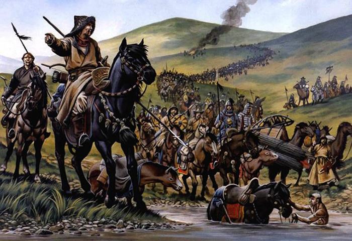 Нашествие татаро-монгол