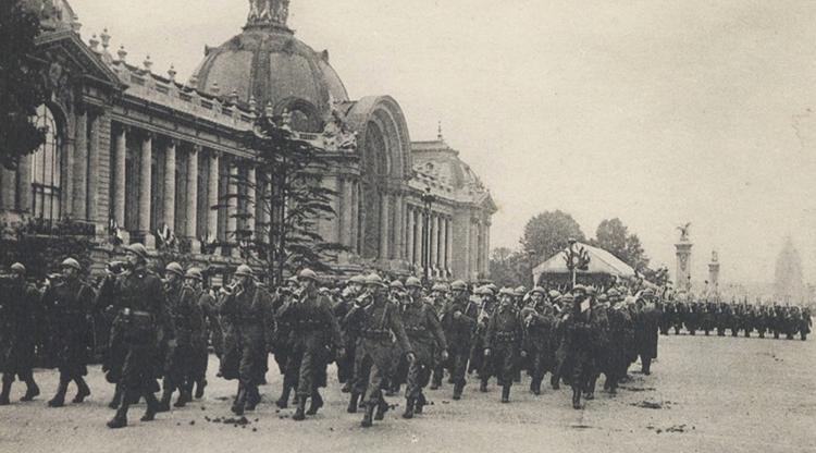 Париж перед войной