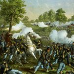 Основные события гражданской войны в США