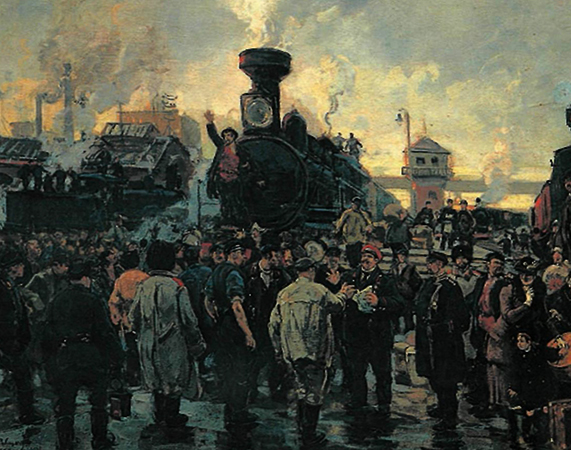 Во время революции 1905-1907 гг.